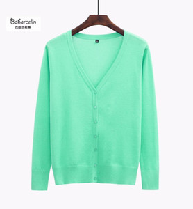 Baharcelin High Quality Big Size 5XL Cardigans Women casual Sweet Crochet Knitted Blouse Long-sleeve Sweaters Cardigan