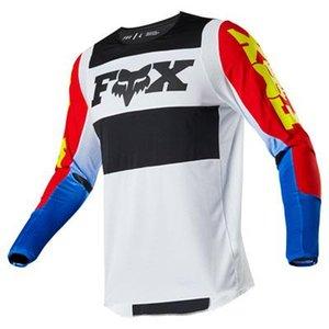 2020 New Fox caliente de descenso traje de carreras de motos Off -road ropa larga Jersey -Sleeved T-Camisa rápidos de secado de ropa / tejido transpirable