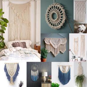 3,5 milímetros X 100m Macrame Cotton Cord Tópico Corda Craft Para Handmade parede decorativo Hanging Dream Catcher Home Textile