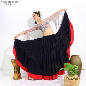 Tribal Bauchtanz Röcke Ats Cotton Spanisch Flamenco Clothing20 Meter Gypsy lange volle Circel SkirtDII01
