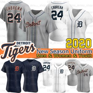 Detroit Cabrera Goodrum Jersey Miguel Niko Jonathan Schoop Brandon Dixon Jeme Candelario Kirk Gibson 2020 Nouvelle saison Jerseys de baseball