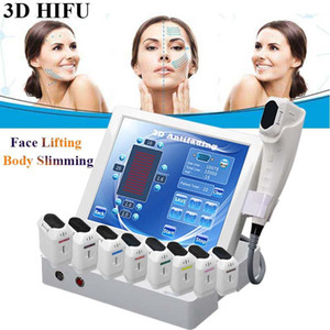2020 3D portable HIFU machine lifting visage rides élimination de la graisse du visage machine à la machine HIFU du corps de réduction