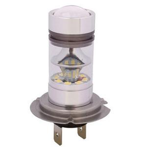 2 PCS H4 100 W 20 SMD Levou Luz Branca 6000 K Carro Condução DRL Nevoeiro Lâmpada 12 V H7
