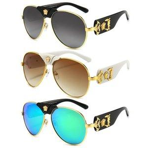 Luxury Metal Sunglasses Brand Women Men Sunglasses Big Frame Driving Travel Glasses Trendy Designer Sun Glasses