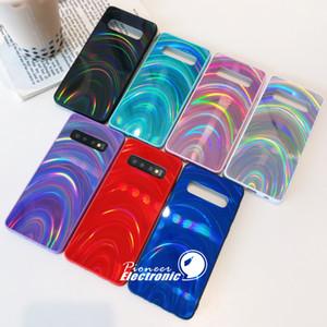 Glitter brillante arcobaleno colorato jelly lusso PC iPhone caso della copertura posteriore del telefono protezione per 12 mini 11 Pro Max SE Samsung s20 s10 S9 più