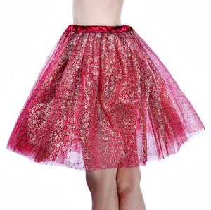 Femmes Filles Fancy Tutu Jupe Tulle Jupes pois mignon Gauzy Jupe adulte Tutu bal robe de bal