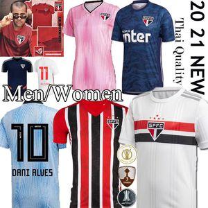 Thail Dani Alves Sao Paulo Jersey NENE Fußball 2020 2021 ARBOLEDA REINALDO Brasilien Verein schwarz Startseite Fußballhemd DIEGO