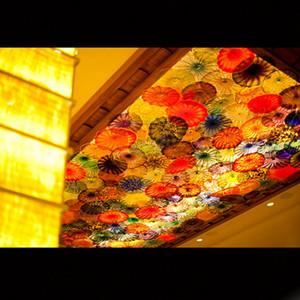 2020 Türkiye Tasarım Murano Cam LED Aplik Şık Cam Duvar lambası aydınlatması Türk Murano Flower Monteli