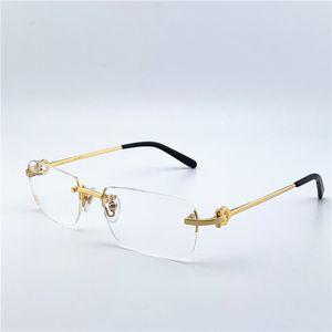 مصمم العين نظارات إطارات رجل إمرأة مصمم الأزياء البصرية ريترو معدن شفاف عدسة خمر الكلاسيكية واضح ساحة نظارات 280088