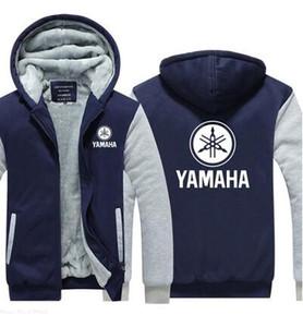 manteau chandail à capuchon Yamaha capuche européen taille sports veste matelassée équitation moto pull rembourré motocross