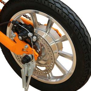 36V250W 14 '' pieghevole biciclette elettriche con biciclette elettriche litio disco motore brushless freno