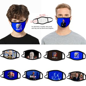2020 presidential election cross-border Biden mask dust-proof fashion 3D printed ice silk fabric can be washed to support custom vote
