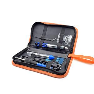 Freeshipping più nuovo 60W 220V EU Saldatore elettrico Kit di temperatura regolabile Starter strumento di saldatura 23x18x4cm