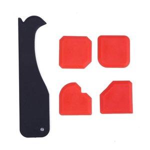 4/5 / 8pcs porta sigillante siliconico spalmatore Spatola raschietto Cemento Removal Tool Kit per silicone Finestra del calafataggio di finitura sigillante Grout
