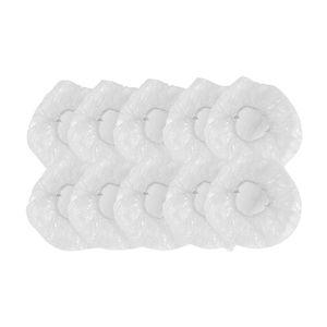 100pcs Dustproof Portable Spa Hotel Home Disposable Shower Cap Travel Elastic Thick Accessories Hair Salon Protective Nurse