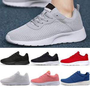 nike roshe run tanjun triple negro blanco Rojo gris Hombres Mujeres Londres 1.0 Zapatillas de deporte para hombre deportivas de diseño Zapatillas de deporte al aire libre
