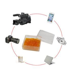 Silica Gel Desiccant Box Reusable Damp feuchtigkeitsabsorbierenden Box Farb Ändern der Kameraobjektiv Moisture-Proof