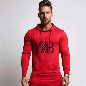 Hot 2019 New MB Letter Print Sweatshirt Men Hoodies Fashion Solid Hoody Mens Pullover Mens Tracksuits Male Hoodie Coats