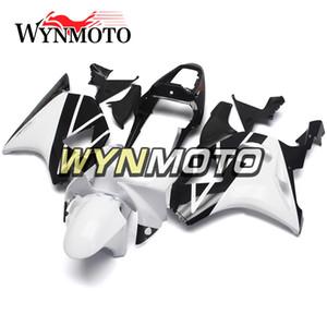 Gloss Blanc Noir Carénages Complets Pour Honda CBR900RR 954 2002 2003 CBR900 RR 954 02 03 Capots De Carrosserie Moto Injection ABS