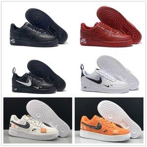 One 1 Dunk Luxury Mens Casual Shoes Chaussures Skateboarding Black White Orange Wheat Women Men High Low Trainer Platform Sneaker 36-45