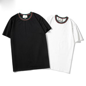 Male and female crime 2020 new fashion T-shirt brand letter print fashion designer top T-shirt short sleeve casual T-shirt S-2XL