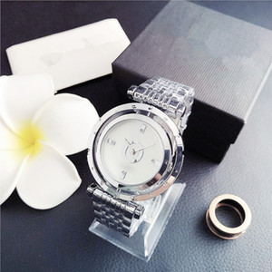 Fashion Brand Women's Girls crystal Stainless steel band Quartz wrist Watch Holiday gift Watch Free shipping