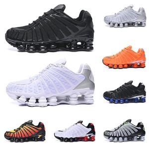 Nike Air Shox OG R4 Barato Designer de Execução Sapatos Mulheres Mens OZ NZ 301 DELIVER Triplo Preto Branco Laranja Prata Vermelho Formadores de Ouro Tênis Esportivos 36-46