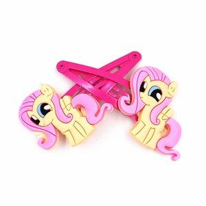 10PCS Meu pequeno cavalo Poni caráter crianças clips MV Penteado Grampos de cabelo Headwear Barrette for Girls Acessórios BB cabelo