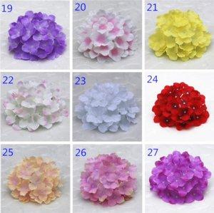 인공 꽃 수국 꽃 머리 웨딩 파티 장식 시뮬레이션 가짜 꽃 머리 홈 장식 YSY307-L 용품