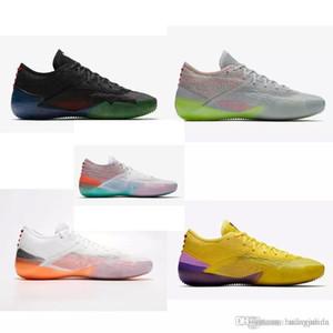 Дешевый мужской ZK Bryants AD NXT 360 баскетбол обуви многоцветного Прохладной Серого Оранжевого Kyrie Леброн 12 XII элитных авиаперелет кроссовок тенниса с коробкой