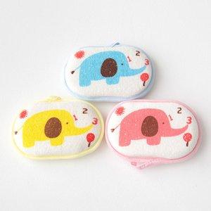 Bath Brushes Shower Produto macia Banho Massagem Acessório infantil Crianças Rub bebê Faucet Esfregar Corpo de lavagem da esponja 16 9,5 centímetros *