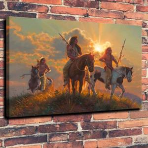 Alta calidad HD Impresión en lienzo Arte de la pared Pintura al óleo Band of Brothers Decoración para el hogar sobre lienzo Tamaños múltiples pa05