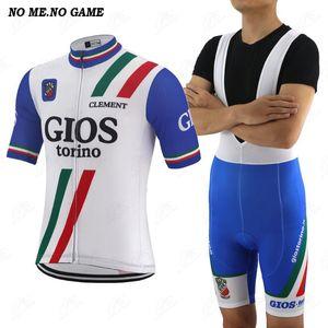 Classic Retro Radtrikot Männer Blau Pro Team Racing einen.Kreislauf.durchmachenkleidende Straße maglia ciclismo MTB Fahrradkleidung Fahrrad-Hemd