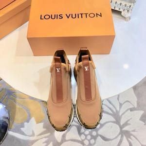 LV Louis Vuitton luxo 2019y Designers homens e mulheres rua moda fashion selvagens sapatos casuais de alta qualidade casal moda selvagem sapatos desportivos, tamanho: 35-45