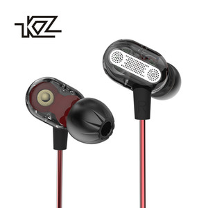 KZ ZSE Special Earphones Dual Driver In-Ear Headphones HiFi Noise Cancelling Stereo Earphone With Microphone Gaming Headset
