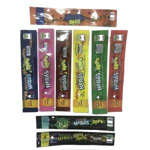 2020 novos tipos 500mg corda de nerds medicamentadas vazias comestível comestível gummy cheiro à prova de embalagem de embalagem 420 600packaging mylar sacos três borda-selagem saco