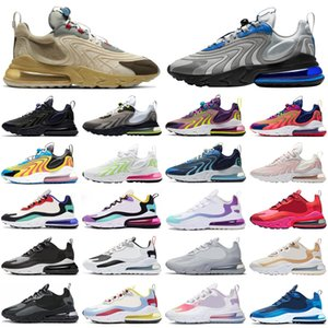 nike air max airmax 270 270s react ENG stock x travis scott hommes femmes chaussures de course néon triple athlétique hommes formateurs sports sneakers runners