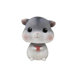 Remuer la tête Hamster Décor voiture mignon Adornment ornement pour voiture de bureau Accueil Boutique Accessoires