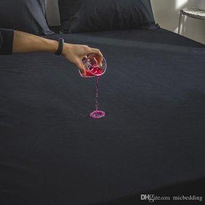 Matratze Matress Coovers Wet Bettabdeckung wasserdicht Bettuch maschinenwaschbar Volltonfarbe gebürstete Matratzenbezug Spannbettuch Schleif