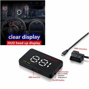 A1000 자동차 HUD 헤드 업 디스플레이의 OBD 2 II EU OBD 과속 경보 시스템 앞 유리 프로젝터 자동 전자 전압 경보