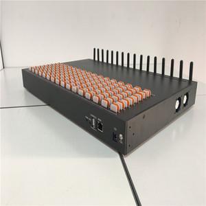 China Suministro WCDMA Puerta de enlace 4G Máquina GOIP 16 puertos VoIP con ranuras para tarjetas SIM 256 Sim Simulación Rotación de grupo