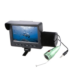1000TVL 4.3in LCD Monitor Fish Finder Underwater LED Night Vision Camera 165° Wide Angle 15M Cable for Sea Fishing