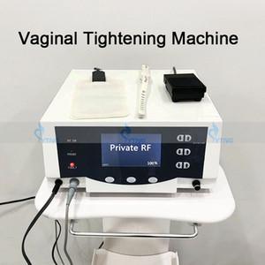 PROFESIONAL RF Máquina de apriete vaginal Vulva Labia Vagina Apriete el Thermi Smooth RF Rejuvenecimiento Cuidado privado