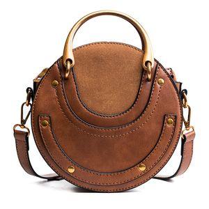Pink Sugao designer shoulder bag women crossbody bags new fashion handbag circle hot sales tote bag small messenger bags pu leather retro