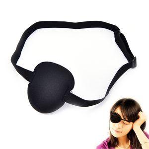 Patch 1pcs Eye Black Mask Pirate Eyeshade Plain Fancy Costume For Adult Lazy Eyes
