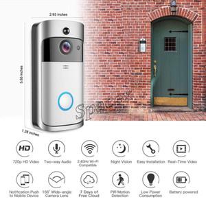 Nuovi V5 Wireless Remote intelligente campanello Con Samrt Home Video 720P citofono visivo Wireless Home Security Camera APP Controllo