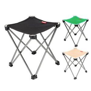 Portable Outdoor pliant chaises de camping ultraléger en alliage d'aluminium Pêche Chaise Voyage Randonnée Plage Folding Packable Chaise