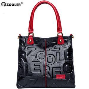 HOT ZOOLER 2019 Luxe Sacs à main Femme Sacs Designer en cuir véritable sac à main en cuir de vache femmes de haute qualité Mochila Feminina Y200328