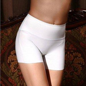 New Mulheres algodão macio sem emenda de segurança de alta cintura Calças Curtas Hot Sale femininos de verão sob a saia Shorts respirável calças justas