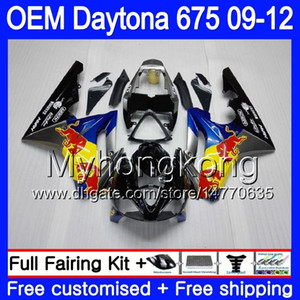 Injection pour Triumph Daytona 675 09 10 11 12 Carrosserie 323HM.17 Daytona-675 Daytona675 Daytona 675 2009 2011 2011